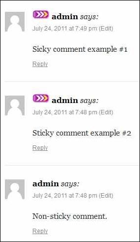 sticky-comments