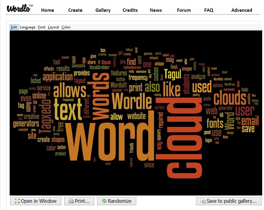 words made from letters generator 14 cool word cloud generators 989