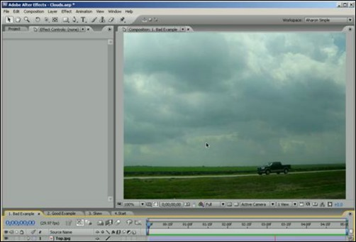 3D-Cloud-Motion-from-a-Still-Image-adobe-after-effects-tutorials