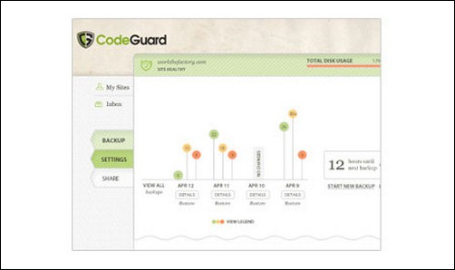 CodeGuard wordpress backup plugin