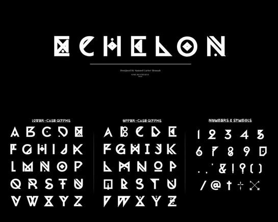 ECHELON-Glyph-Set