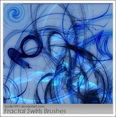Fractal-Swirls-Brushes