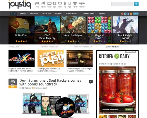 Joystiq-gaming-websites