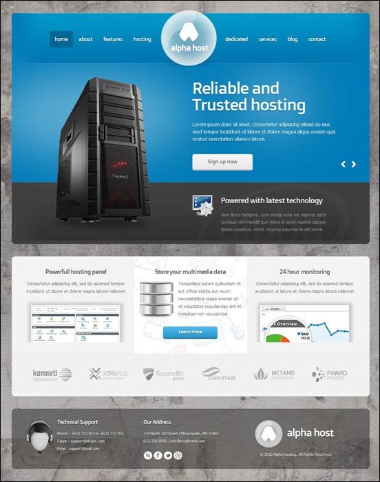 alpha-modern-hosting-template-