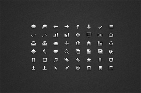 glyph-ui-icon-set
