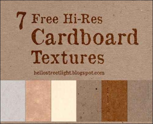 high-res-cardboard-textures