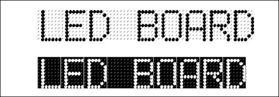 led-board