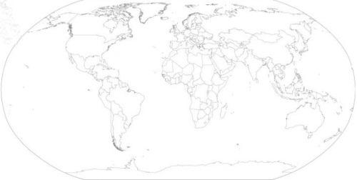 25 Useful Free World Map Vector Designs | Tripwire Magazine