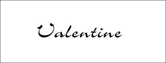 valentine-