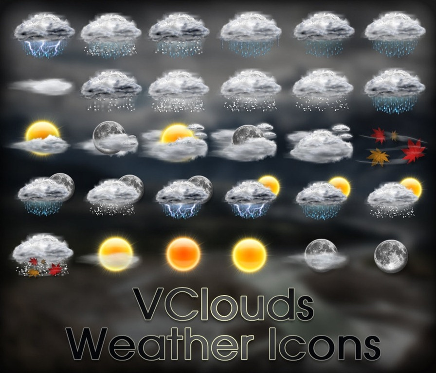 30 sets of highquality weather icons for free � tripwire