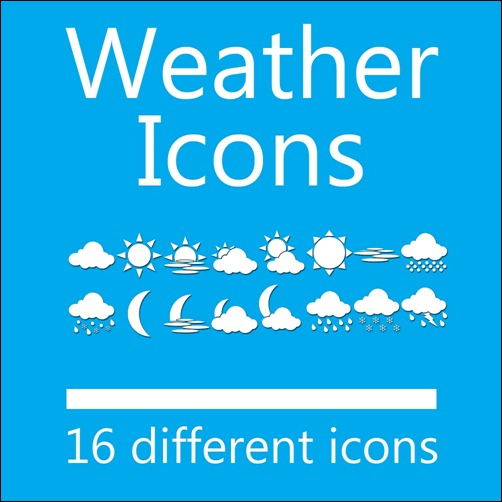 weather-dock-icon-set