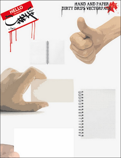 Dirty-hand-Vector-Pack