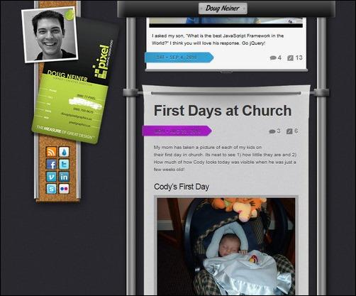Doug Neiner Creative Tumblr Blog Designs