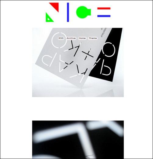 Nice Things We Like Creative Tumblr Blog Designs