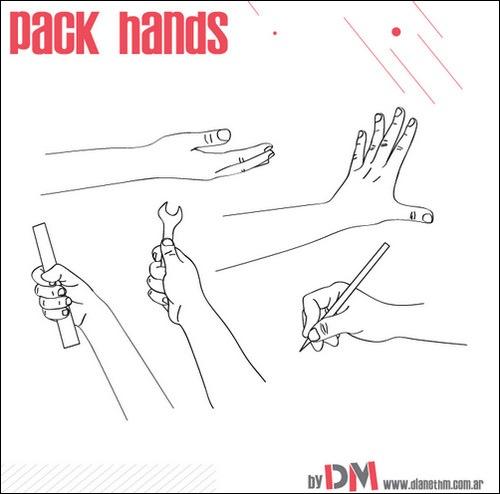 hand-vectors-sets