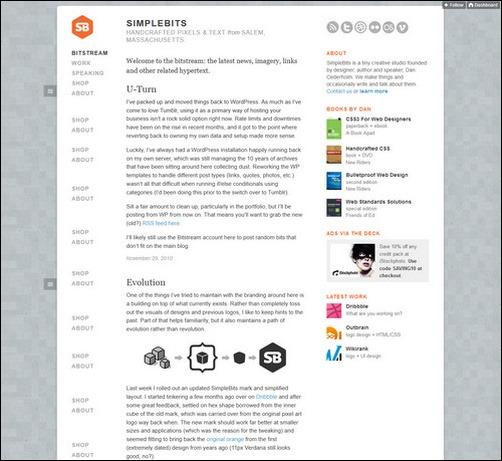 Simple Bits Creative Tumblr Blog Designs