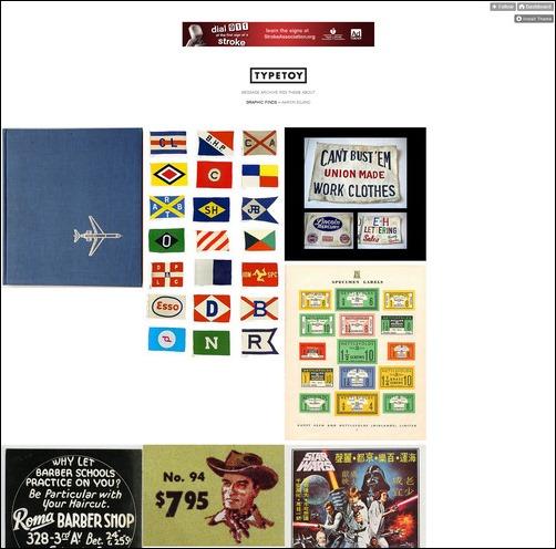 Type Toy Creative Tumblr Blog Designs