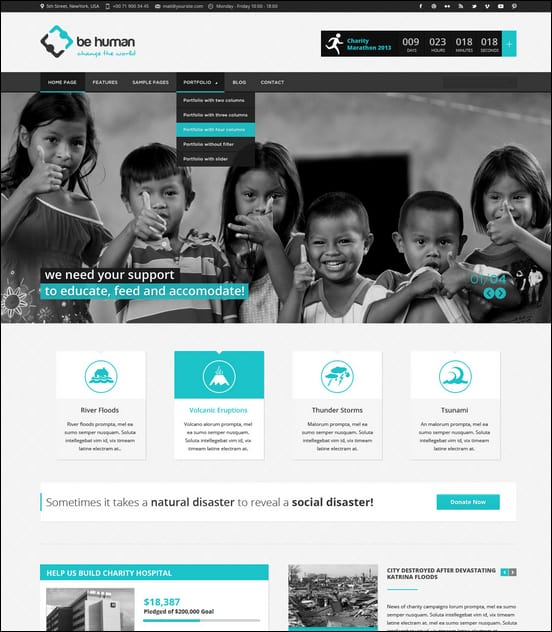 25+ Best Nonprofit WordPress Themes