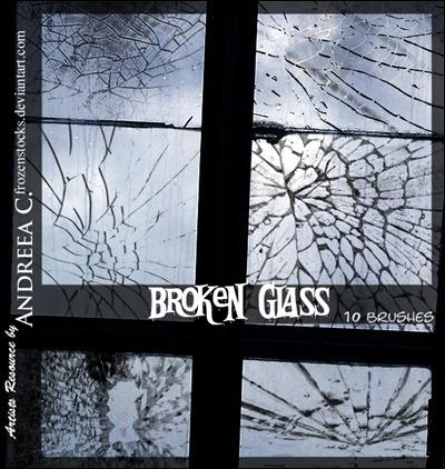 borken-glass