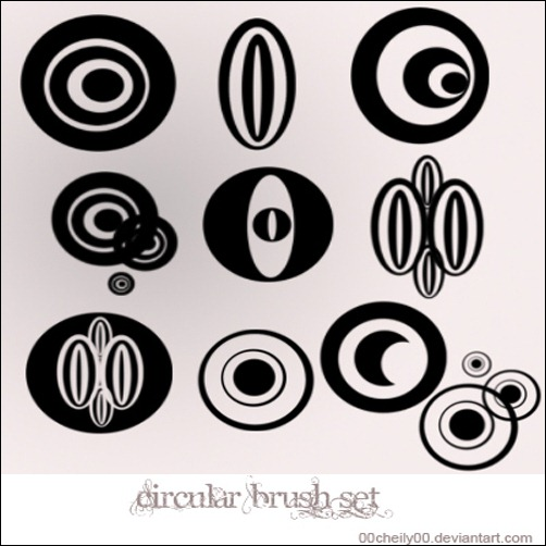 circular-brush-set