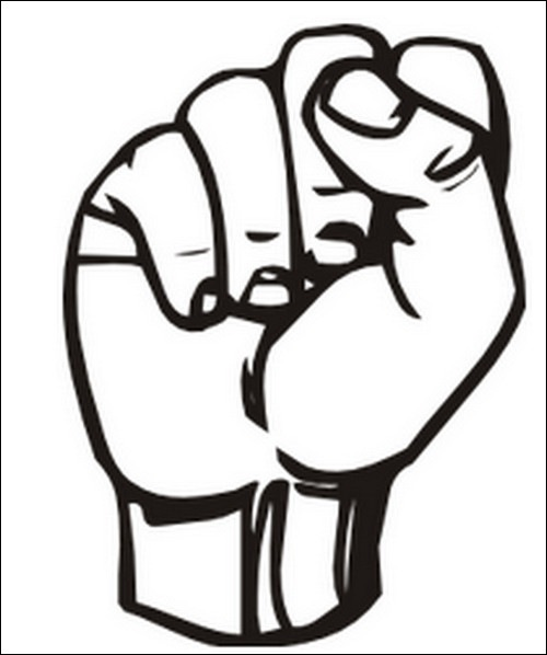 Hand-vector-sign-language-s-clip-art