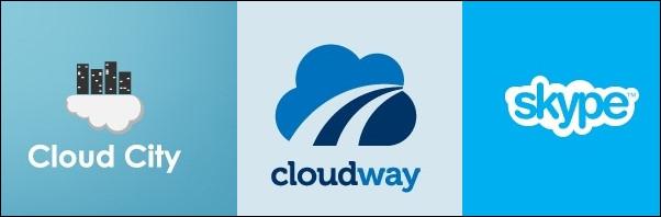 60 Lovely Cloud Logo Designs for Inspiration