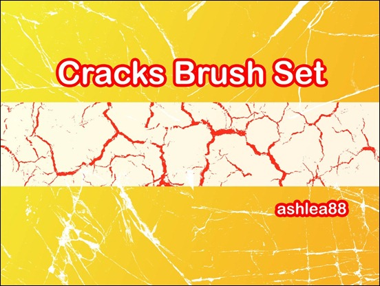 cracks-brush-set