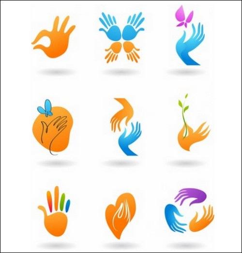 deformed-hand-icon-vector