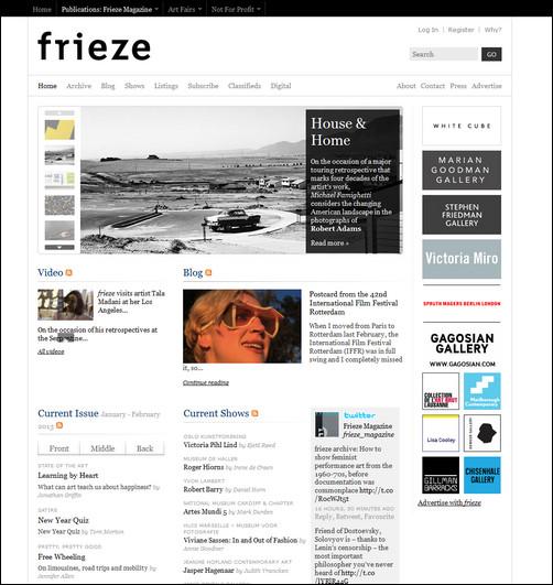 frieze magazine
