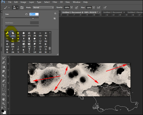 photoshop-bullet-hole-brushes-used