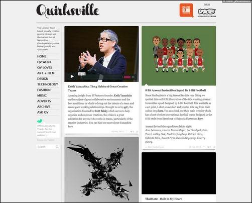 quirksville Creative Tumblr Blog Designs