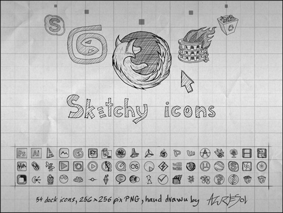 sketchy-icons-