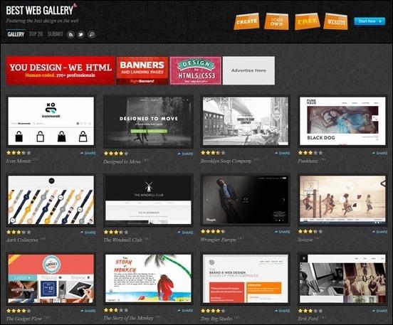 best-web-gallery