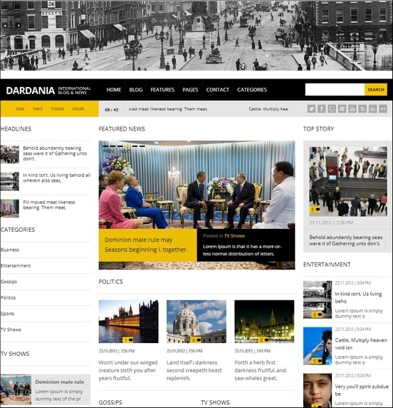 dardania news theme thumb1 WordPress Haber ve Portal Temaları