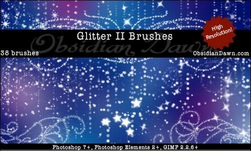 glitter-brushes