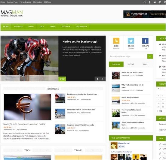 magman wp theme thumb1 WordPress Haber ve Portal Temaları