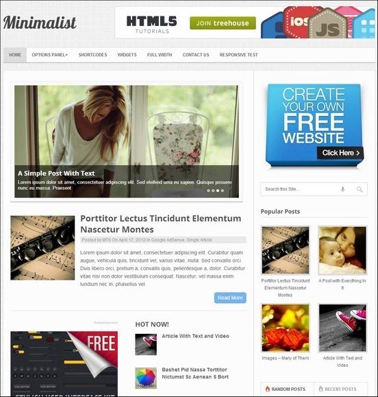 minimalist thumb1 WordPress Haber ve Portal Temaları