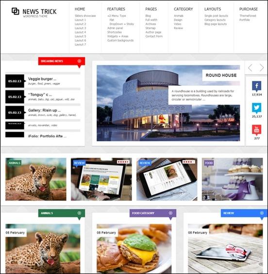 newstrick theme thumb1 WordPress Haber ve Portal Temaları