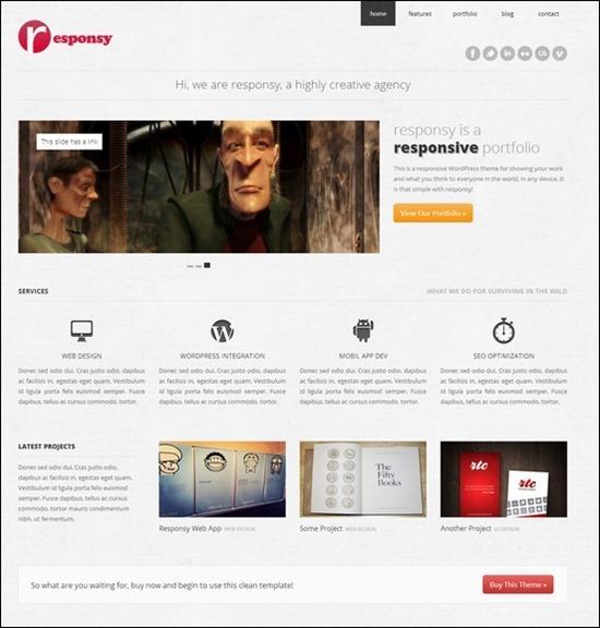 responsy-html5-theme