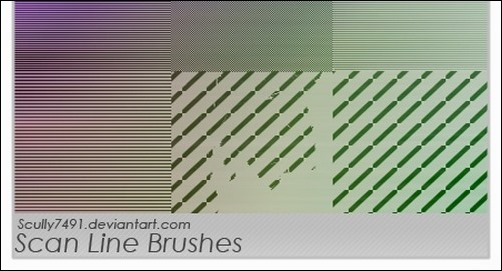 scan-line-brushes