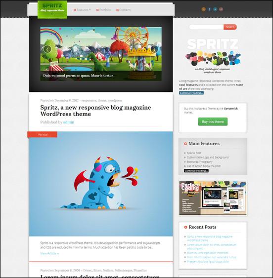 spritz-html5-responsive-theme