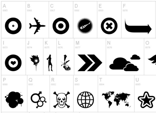 45+ Pictogram Dingbat Fonts | Tripwire Magazine