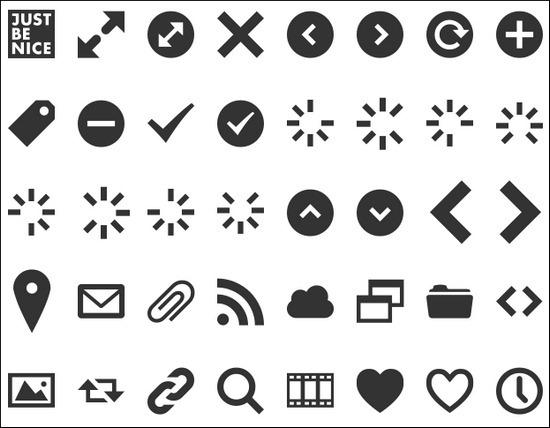 web-symbols