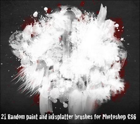 21-random-paint-strokes