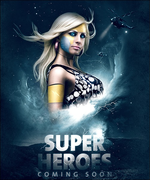Making a Superhero Movie Teaser Poster Tutorial