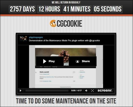 cgc-maintenance-mode-pro