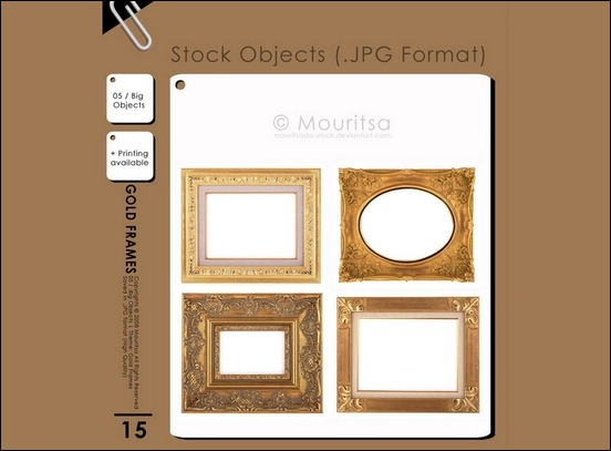 object-pack-gold-frames