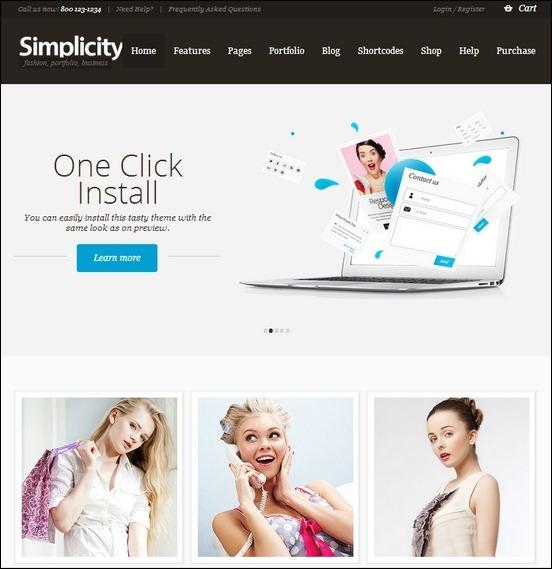 simplicity-ecommerce-wordpress-theme-responsive