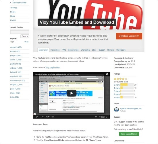 vixy-youtube-embed-and-download
