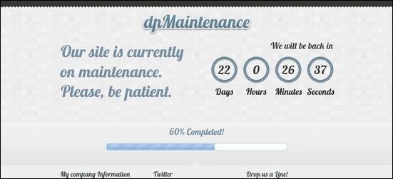 wordpress-maintenance-under-construction-mode
